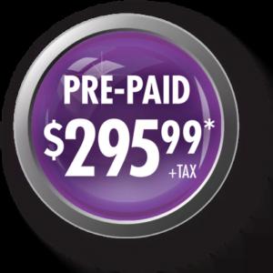prepaid price $295.99