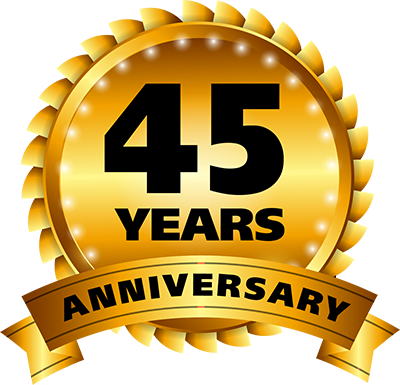 45 Years in Business
